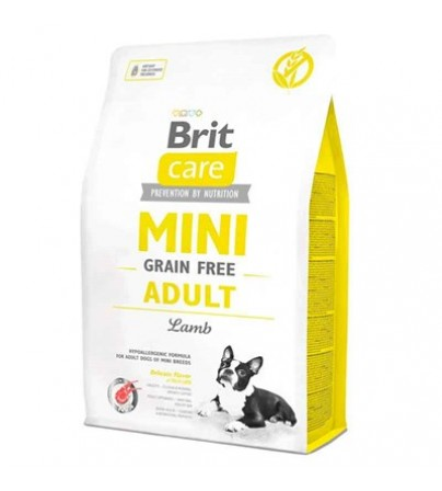 Brit Care Tahılısz Mini Adult Kuzulu Köpek Maması 2 kg